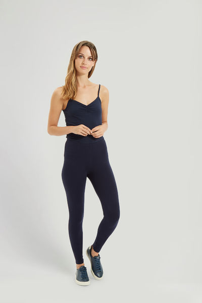 Luomuleggingsit navy S, XL